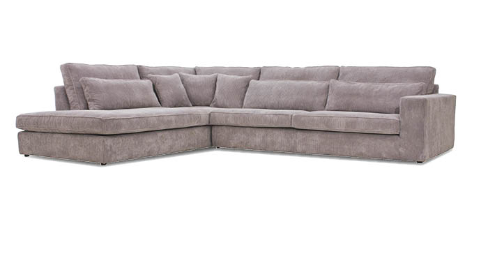 Eckcouch taupe  California | Seats and Sofas