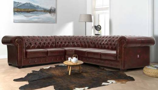 Edinburgh Chesterfield Ecksofa