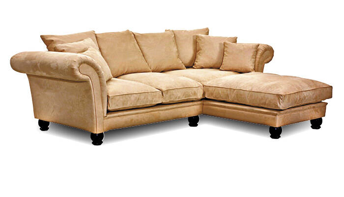 Sofa L form beige