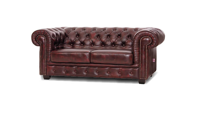 Chesterfield 2 Sitzer Sofa