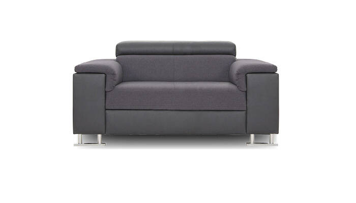 Loveseat grau