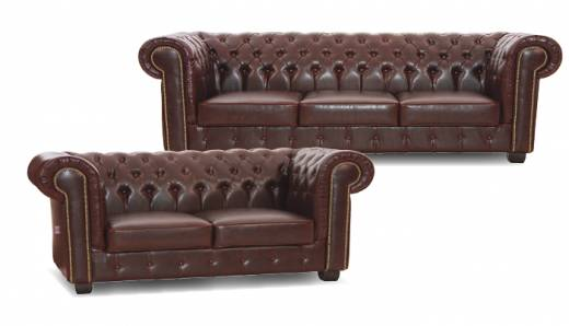 Edinburgh Chesterfield 2-Sitzer Sofa