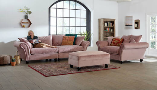 Luxury 1,5-Sitzer Sofa (Loveseat)