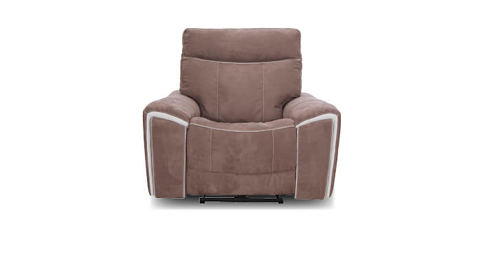 Sofa taupe, braun mit relaxfunktion