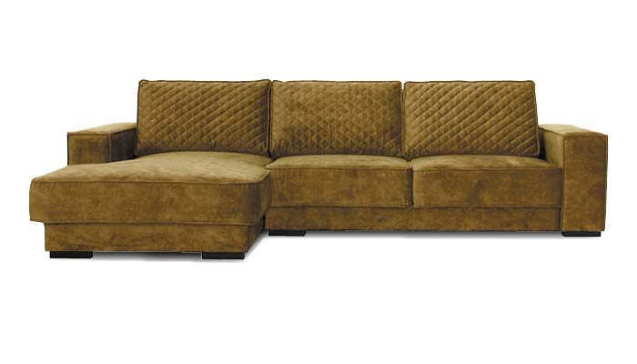 Lounge sofa moosgrün